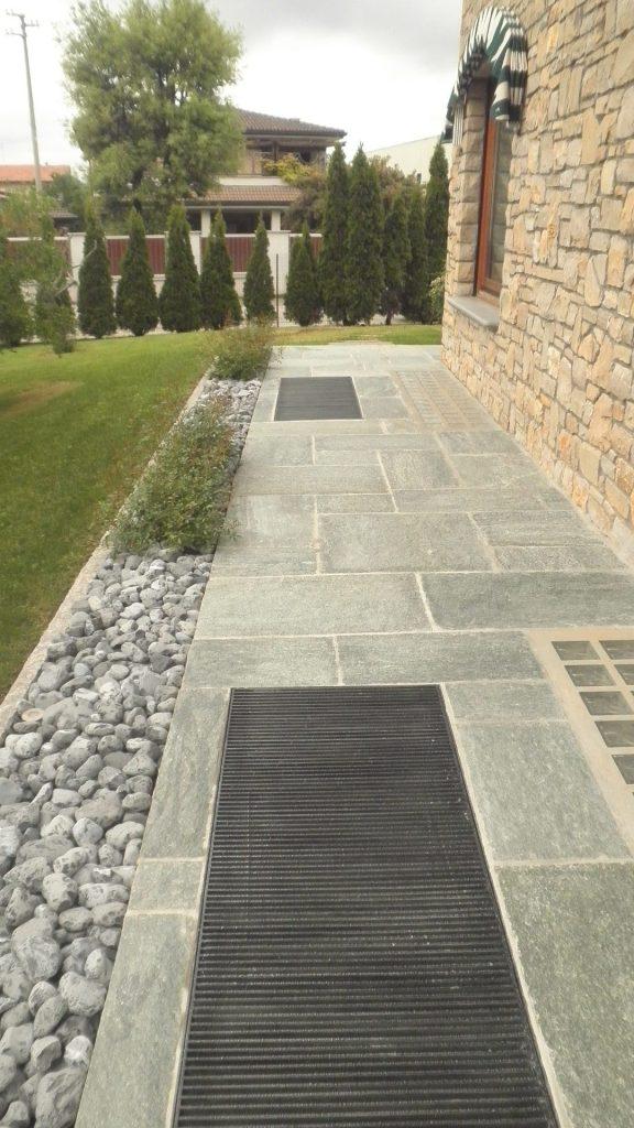 Pavimentazioni privati ovest graniti - Pavimentazione cortile esterno ...